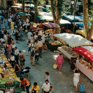 French Market in the South of France