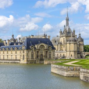 Chateau de Chantilly, Oise, Picardie, France