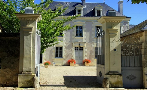 Holiday Chateau in Champigny sur Veude, Indre -et-Loire, Loire Valley, Central France
