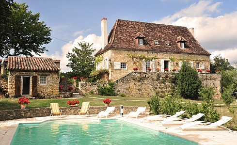 Holiday Villa in Nadaillac de Rouge, Lot, Midi-Pyrenees, South West France