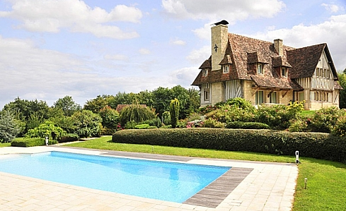 Holiday Farmhouse in Beaumont en Auge, Calvados, Normandy, North West France