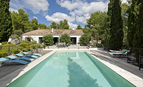 Holiday Villa in Les Baux de Provence, Bouches-du-Rhone, Provence - South of France